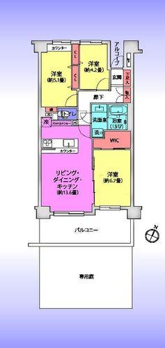 武蔵浦和南パーク・ホームズの画像
