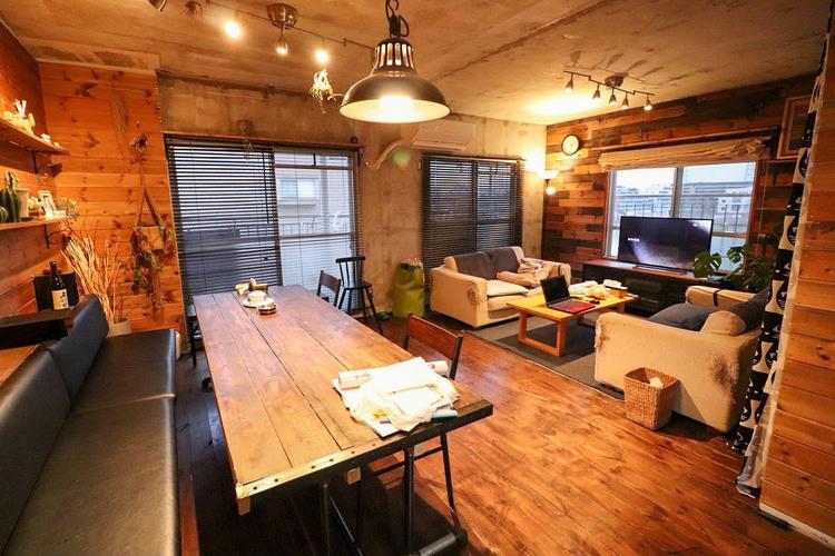 広々LDKは家族みんなの快適空間。お食事したりおしゃべりしたり、家族の絆を育むセントラルスペース。