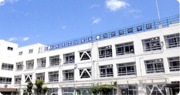 渋谷区立加計塚小学校まで670m。1919年開校。「礼儀正しく思いやりのある人間」「社会に貢献しようとする人間」「個性と創造力豊な人間」。