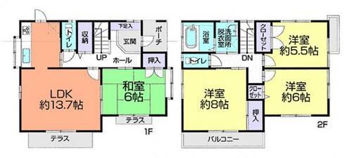 さいたま市見沼区中川 中古住宅の物件画像