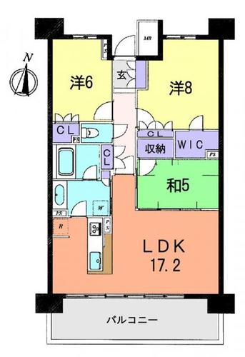 レーベン東鷲宮テラスの物件画像