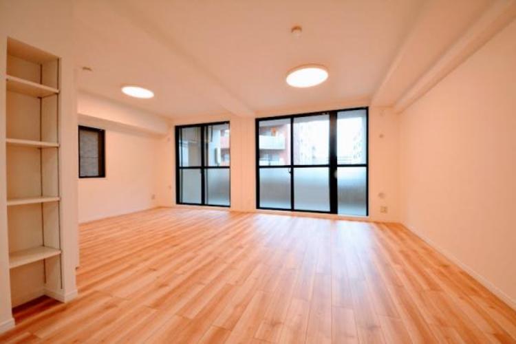 LDKと洋室をつなげれば約18帖の広々空間になります