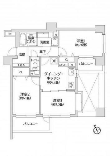 ライオンズマンション日吉東第5の画像
