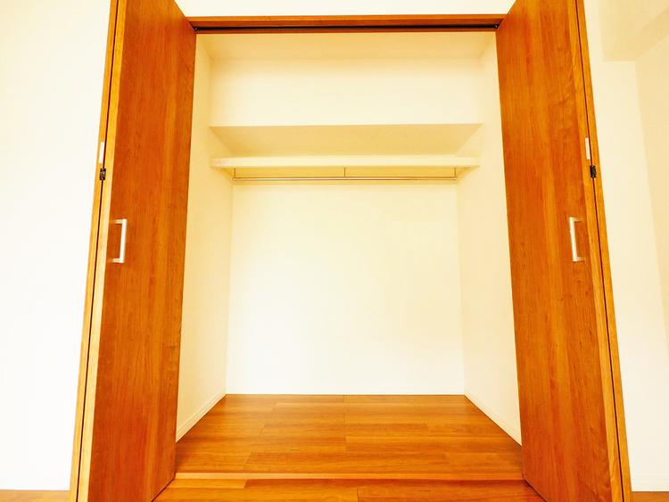 収納スペースを完備、荷物が多い方でも安心の収納力