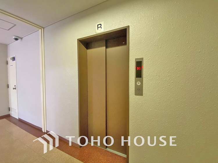 エレベーターもあるので荷物が多くなっても安心です