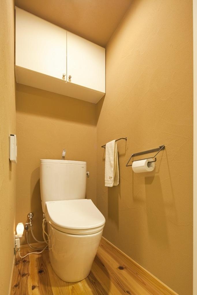 珪藻土は消臭効果もあるので、トイレにもご使用いただけます。