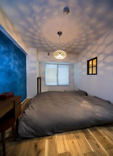 【リノベーションイメージ画像】 壁に一部アクセントクロスを入れるだけでおしゃれなお部屋にもなります。デザイナーがおりますので照明器具のコーディネートまで、ご相談下さい♪